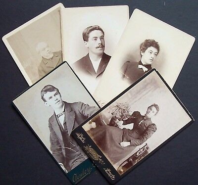 Cabinet Cards x 5 Sheffield