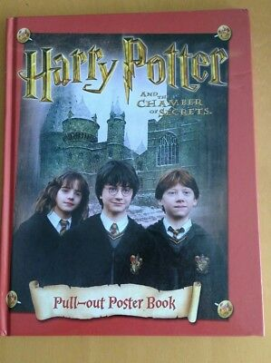 harry potter and the chamber of secrets pull-out poster book