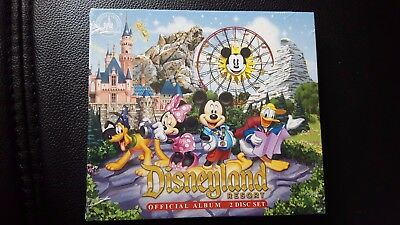 Disneyland Resort Official 2-disc Album CD NEW W/ Disneyland Bag!