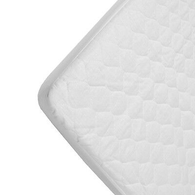 American Baby Company Waterproof Quilted Cotton Bassinet Fitted Mattress Pad