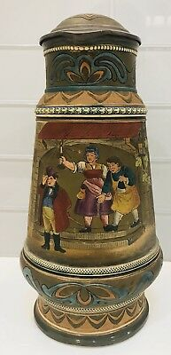 Antique Gerz large Stein Beautiful Great Detail NR