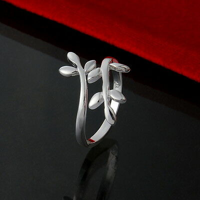 Fashion Women Jewellery 925 Solid Sterling Silver Charm Rings Xmas Gift