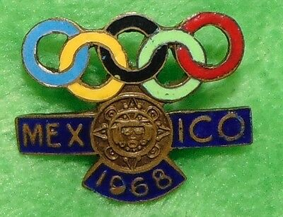 1968 Mexico Olympic pin