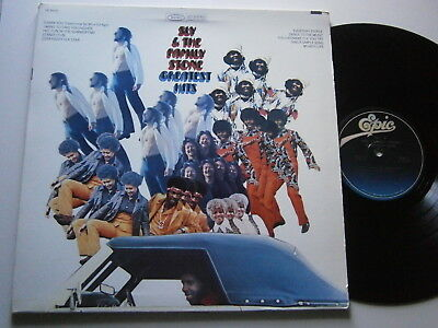 SLY AND FAMILY STONE: Greatest Hits (Epic) US 2004 Reissue LP