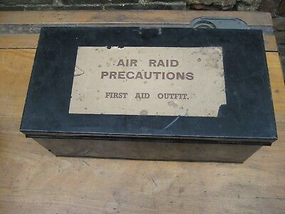 WW2 ARP complete First Aid case