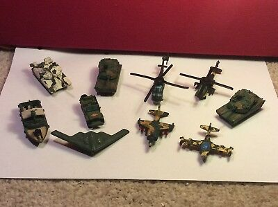 VINTAGE Micro Machines Military Vehicles X 10 Galoob #4