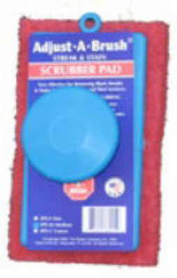 Adjust-A-Brush Scrub Pad Medium  Great 4  Pool Cleaning