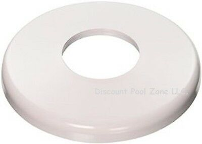 Hayward SP1041 (2PK) White Plastic Ladder / Handrail Escutcheon 1.5 Inch Pipe