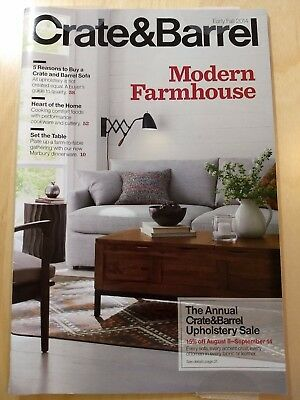 Crate & Barrel Early Fall 2014 Modern Farmhouse Product Source Guide