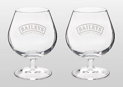 Baileys Balloon Glass X 2 New