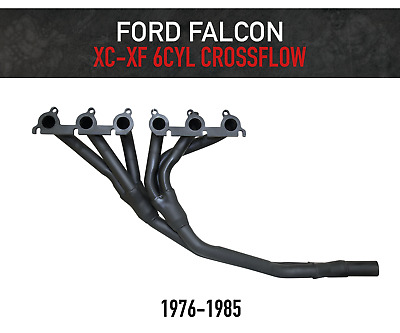 Ford Falcon Xd Xe Xf Alloy Heads Only 1980 To 1985 Headers Extractors Manifold