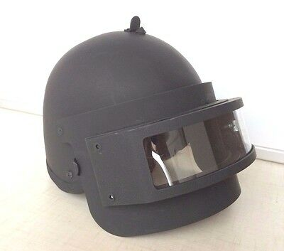 Russian MVD Helmet K 6-3 BLACK (NEW) FSB. EXPRESS AIRMAIL SHIPMENT !