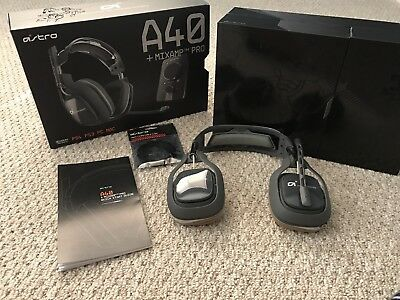 Astro A40 Headset + Mixamp