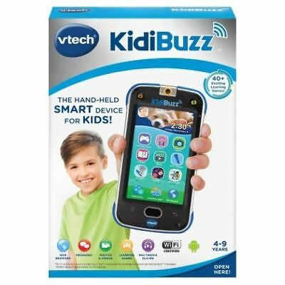 Brand New VTech KidiBuzz Hand-Held Smart Device Black Toy Phone For Kids