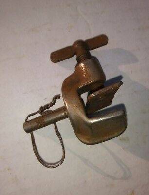 Vintage Leedy Triangle Bass Drum Clamp Mount Holder 20's