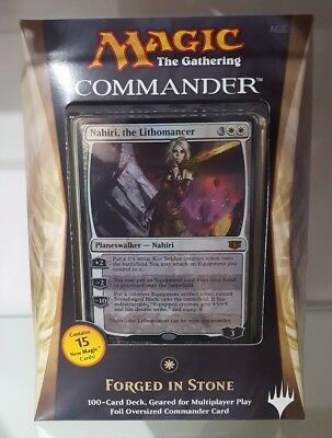 FORGED IN STONE 2014 Commander New MTG Magic Deck