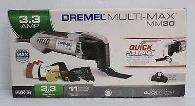 Dremel MM30-04 Multi-Max 3.3-Amp Oscillating Tool Kit