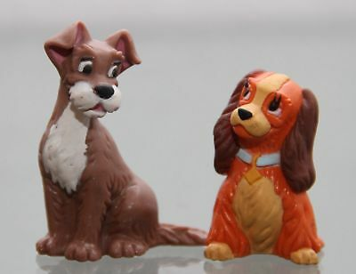 Bullyland - SET of 2 figures : Lady And The Tramp - Figures : Lady /approx. 4...