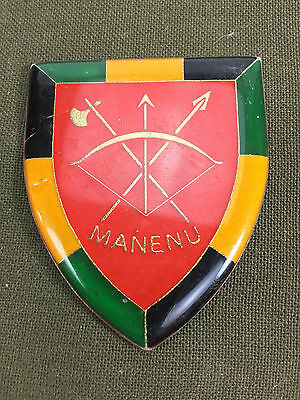 Venda Army Manenu Battalion Metal Arm Flash Sadf Homeland South Africa