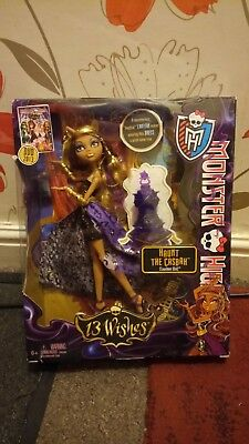 monster high 13 wishes doll new unopened