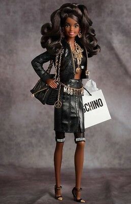 Moschino Barbie Doll African American