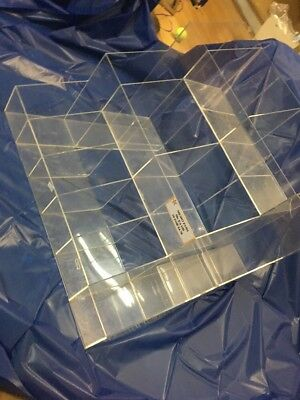 Clear Counter Top Display Unit For Shop