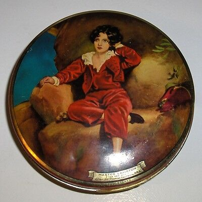 Vintage Candy Tin. Wilkins Red Boy Toffee.
