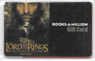 Books A Million Gift Card - Lord of the Ring - Collectible - No Value