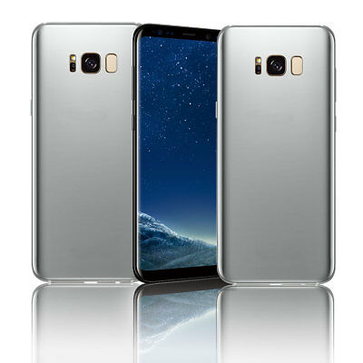 Silver Non-Work Display Dummy Shockproof Mobile Model For Samsung Galaxy S8 Plus