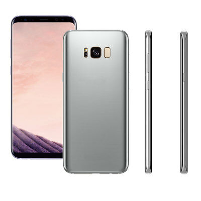 For Samsung Galaxy S8 1:1 Size Display Dummy Simulation Fake Mobile Model Silver