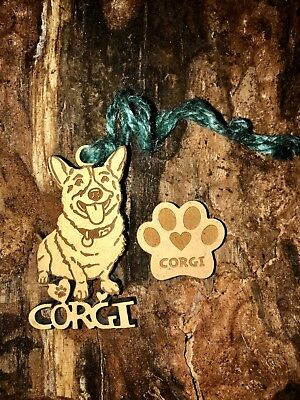 Corgi Christmas Ornament & 2 FREE MAGNETS