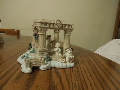 Wreathmakers Dreamsicles Heavenly Village Sculpture Collection 1996