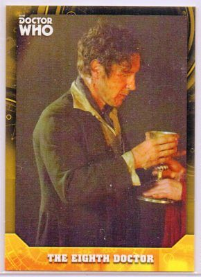 2017 Topps Doctor Who Signature Series EIGHTH DOCTOR TRUE 1/1 GOLD #8