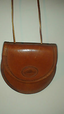 Roots Original Money Bag Pouch 1970,s   Coin  Stop Watch   I.d. Caddy
