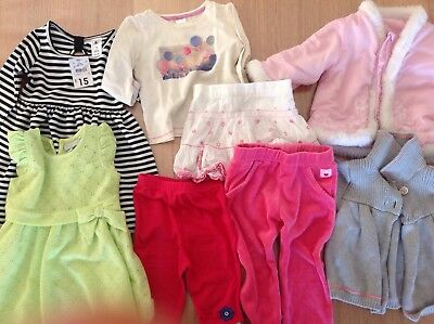 Baby Girl Clothing Lot Size 1 (8 Pieces)