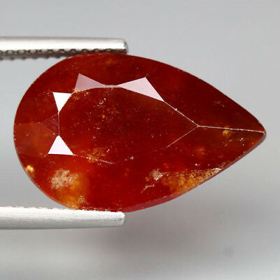 11.78 Cts_Glittering Fire_100 % Natural Unheated Spessartite Garnet_Srilanka