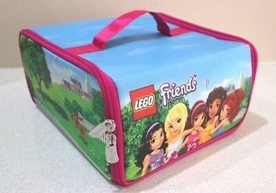 LEGO Friends • ZipBin Toy Box: Heartlake Place • NEAR NEW Condition