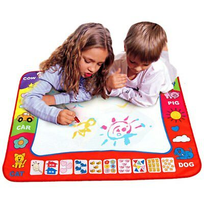 Water Drawing Painting Writing Mat Board & Magic Pen Doodle Learning Drawing Toy
