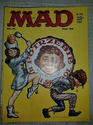 Mad Magazine #51 Dec 1959