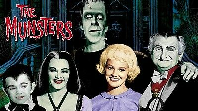 The MUNSTERS Herman '60's TV show Sticker or Magnet