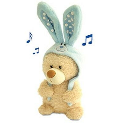 Singing  Easter  Plush  Baxter  Bear  Giggles  &  Sings