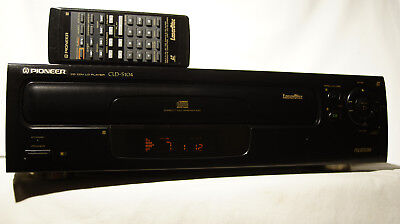 Pioneer CLD-S104 Laser Disc & CD Player w/ Remote Works Great!