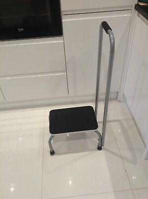Portable Step With Holding Bar. Non-slip Kitchen Or Bath Use.Mobility.