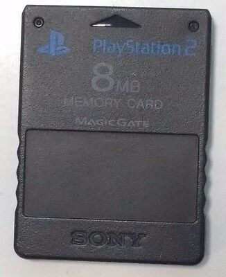 Memory Card 8 MB - Sony playstation 2 PS2