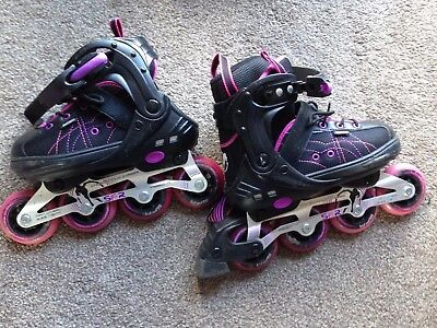 SFR Kids Inline roller blades adjustable size 13 to 3