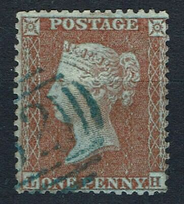 SG22 1d red-brown, SC14 DIE I, FINE used. Green Cancel