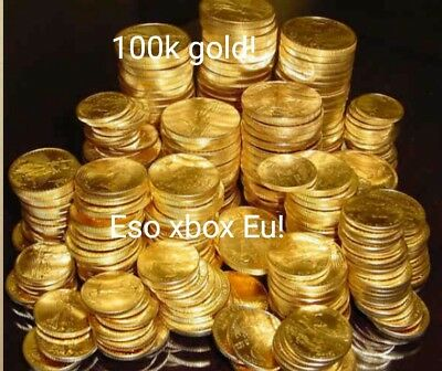 The Elder Scrolls Online 100k gold Xbox Eu server! ESO Fast delivery!