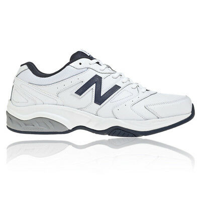 New Balance MX624v3 Mens White Leather Gym Cross Training Trainers Pumps Shoes