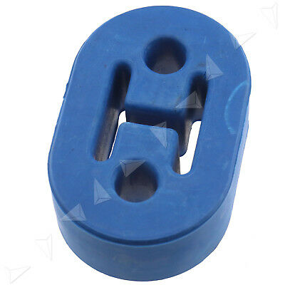 BLUE 2 hole Universal Upgraded Heavy Duty Exhaust Rubber Hanger Support Mounts