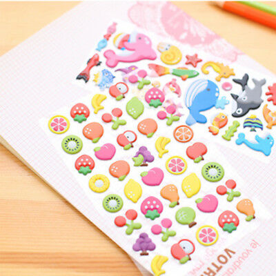 2017 Fruit Diary Stickers Decor Scrapbooking  Stationery Planner Sticker Toys